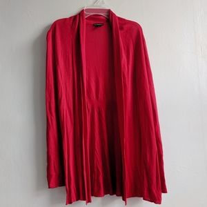 Express open front cardigan size SP